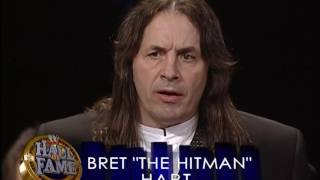 Download WWE Hall of Fame 2006 - Bret Hart Induction Speech Video