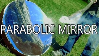 Download How To Make Parabolic Mirrors From Space Blankets - NightHawkInLight Video