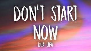 Download Dua Lipa - Don't Start Now (Lyrics) Video