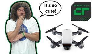 Download DJI's Cute $499 Spark Drone | Crunch Report Video