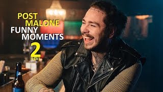 Download Post Malone FUNNY MOMENTS Part 2 (BEST COMPILATION) Video