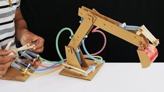 Download How to Make Hydraulic JCB From Cardboard Video