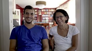 Download Austrian couple make Syrian guest part of the family Video