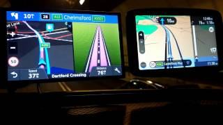 Download 2018 Tomtom GO 6200 VS Garmin GPS reception Dartford Tunnel Video
