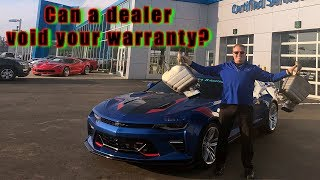 Download Do mods to your car void your warranty? Video