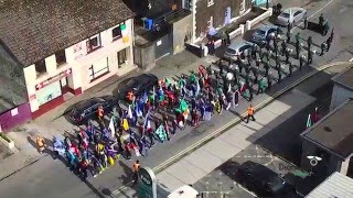 Download Drone View of Easter 1916 Commemorations Athenry Co. Galway Video