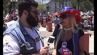 Download Clueless Anti-Trump Protesters Call For Trump's Impeachment | FLECCAS TALKS Video