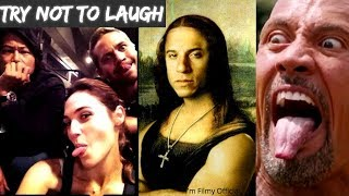 Download Fast and Furious Series - Hilarious Bloopers & Gag Reel | Gal Gadot | Vin Diesel Video