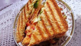 Download Grilled Daily Sandwich - Sanjeev Kapoor - Khana Khazana Video