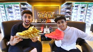 Download The Kid in Dubai with $1,000,000 in Shoes ... Video