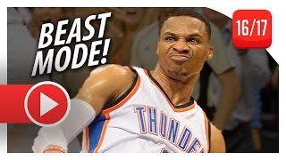 Download Russell Westbrook Full Highlights vs Rockets (2016.11.16) - 30 Pts, 9 Ast, UNREAL CLUTCH DUNK! Video