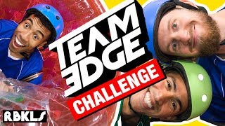 Download LEGO + TEAM EDGE Obstacle Course CHALLENGE! - REBRICKULOUS Video