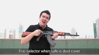 Download GHK AKM Gas Blowback Airsoft Rifle (HD) - Redwolf Airsoft - RWTV Video