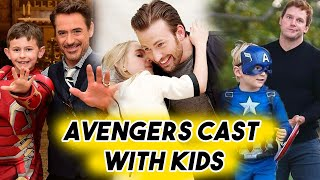 Download Avengers Cast Being THE CUTEST with Kids | Chris Evans Hemsworth Pratt RDJ Funny Moments Video