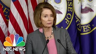 Download Nancy Pelosi Blames James Comey Letter For Hillary Clinton's Loss | NBC News Video