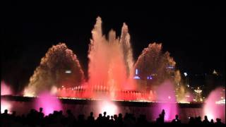 Download Montjuic Magic Fountain - Barcelona Video