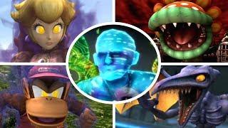 Download Super Smash Bros Brawl - All Bosses + Cutscenes (No Damage) Video
