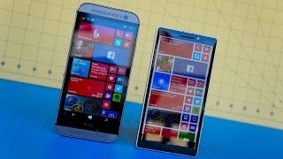 Download HTC One M8 for Windows vs Lumia Icon Video