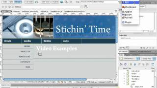 Download Dreamweaver CS5 - Adding Video Video