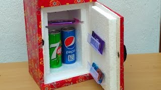 Download How to make a Mini Refrigerator ( Low cost DIY) Video