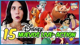 Download 15 LIVE ACTIONS que DISNEY estrenará (Aladdín, Rey León, Cruella ,Mulán) Video