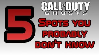 Download CoD Ghosts: 5 Spots You Probably Don't Know - Episode 4 (Warhawk, Siege, Stonehaven) Video