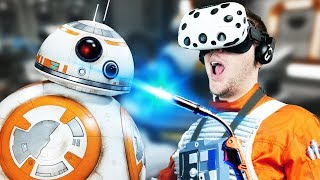 Download Virtual Reality Droid Repairing! - Star Wars: Droid Repair Bay Gameplay - VR HTC Vive Video