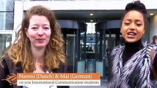 Download Welcome to International Communication at Hanze UAS, Groningen Video
