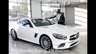 Download The Iconic 2019 Mercedes-Benz SL 450 Roadster review. For Sale from Mercedes Benz of Arrowhead Video