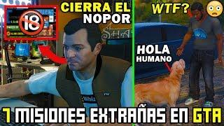 Download 7 Misiones mas EXTRAÑAS de Grand Theft Auto (Top 7 Misiones GTA) Video