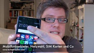 Download Mobilfunkanbieter, Netzwahl, SIM Karten und Co Video