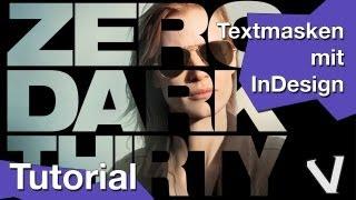 Download Tutorial Textmasken erstellen mit Adobe InDesign Video