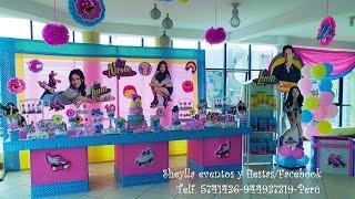 Download Soy Luna, decoración temática de fiesta infantil, mesa de dulces Video
