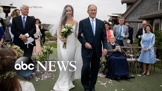 Download Intimate wedding ceremony for former first daughter Barbara Bush Video