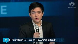Download Social Good Summit 2016: Leandro Leviste on powering the future Video