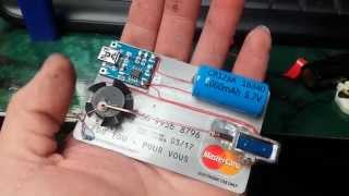 Download Tiny Solenoid Motor on a Credit Card Video