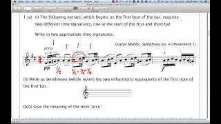 Download ABRSM Music Theory Grade 5   Question 1   Extract Analysis Video