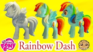 Download DIY Painting My Little Pony Rainbow Dash Statue Paint Craft Do It Yourself Video Cookieswirlc Video