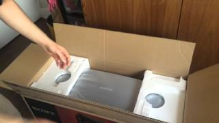Download Sony GTK-X1BT audio system unboxing Video