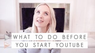 Download 9 Things to Do Before Starting a Youtube Channel | CHANNEL NOTES Video