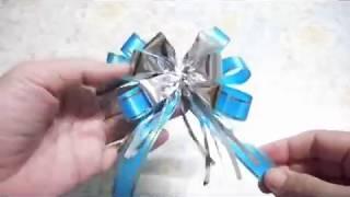 Download ทำโบว์ติดของขวัญแบบประหยัดกัน(Gift Bow) Video