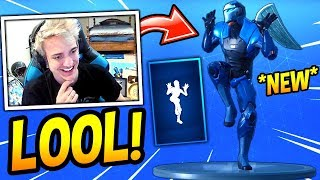 Download NINJA REACTS TO *NEW* ZANY DANCE/EMOTE! CRINGY! Fortnite SAVAGE & FUNNY Moments Video