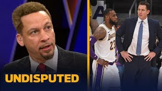 Download Chris Broussard isn't convinced Luke Walton is the problem for LeBron and Lakers | NBA | UNDISPUTED Video