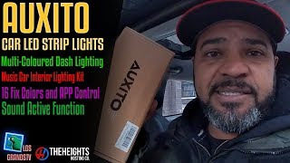 Download AUXITO Car LED Strip Lights💡: LGTV Review Video
