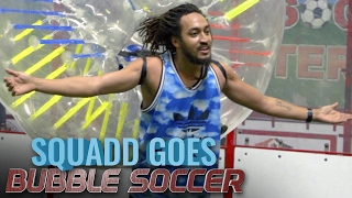 Download Playing Bubble Soccer Video