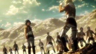 Download ▸ Mikasa Vs Annie Training (extra scene) Aot || Snk ENGLISH SUB Video