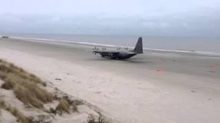 Download C130 Hercules Beach Takeoff Video
