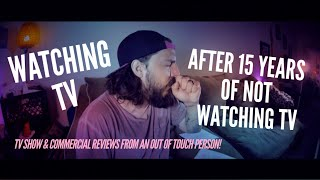 Download Reviewing TV Shows & Commercials After Not Watching TV for 15 Years Video