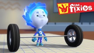 Download The Fixies ★ The Lever and The Microwave ★ Fixies English 2017   Cartoon For Children Video