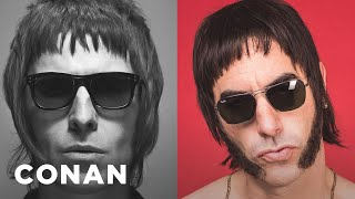 Download Sacha Baron Cohen's Insane Liam Gallagher Story - CONAN on TBS Video
